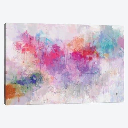 Colors Of Sunrise Canvas Print #VCR37} by Van Credi Art Print