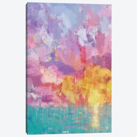 Summer Joy Canvas Print #VCR41} by Van Credi Canvas Art Print