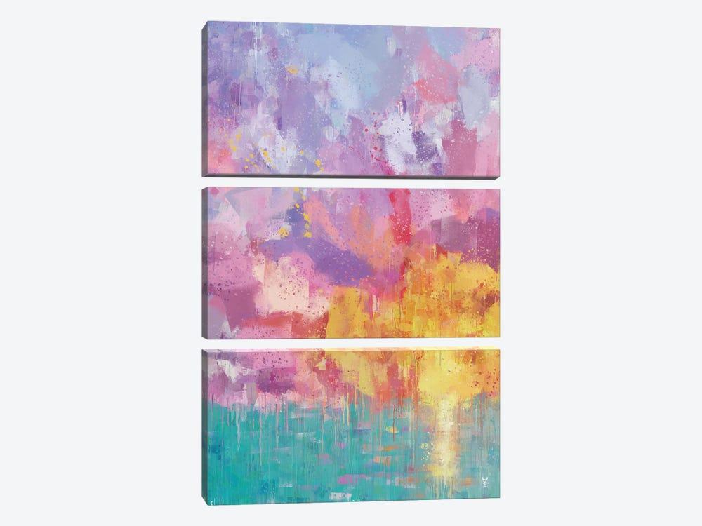 Summer Joy by Van Credi 3-piece Canvas Art