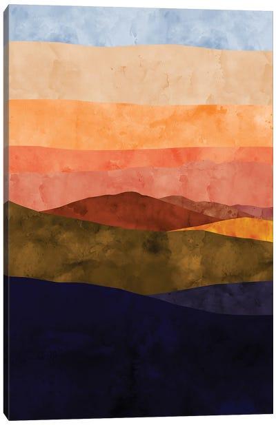 Sunset Ridge Canvas Art Print