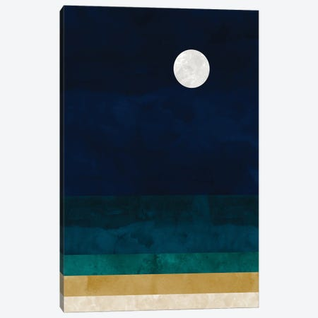 Abstract Seascape Canvas Print #VCR8} by Van Credi Canvas Art