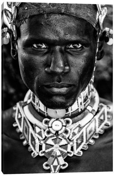 Samburu Man Canvas Art Print