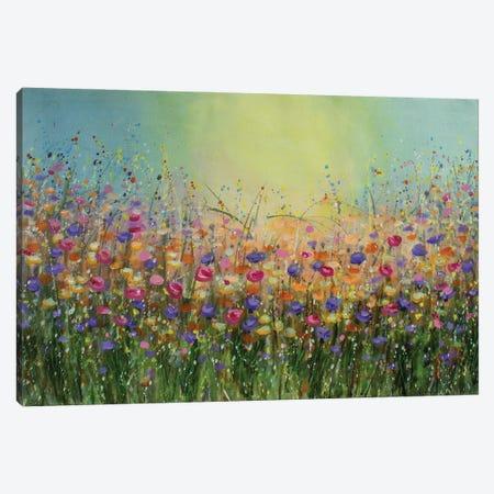 Abstract Meadows Canvas Print #VDR105} by Vishalandra Dakur Canvas Art Print