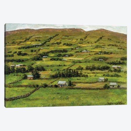 Rural Village Canvas Print #VDR31} by Vishalandra Dakur Art Print