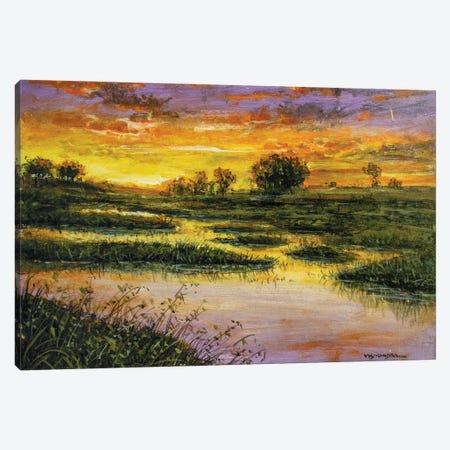 Marsh Meadows Canvas Print #VDR39} by Vishalandra Dakur Canvas Print
