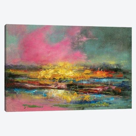 Abstract Landscape Canvas Print #VDR48} by Vishalandra Dakur Canvas Artwork