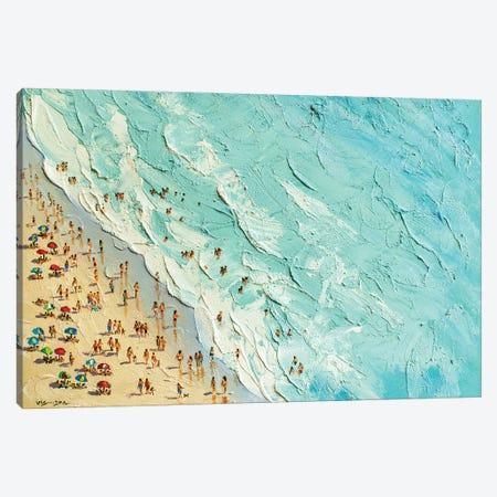 Summer Beach V Canvas Print #VDR71} by Vishalandra Dakur Canvas Art Print