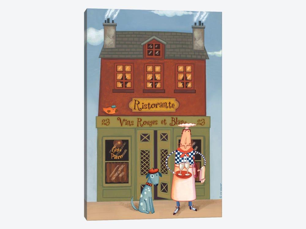 Chef VIII Ristorante by Viv Eisner 1-piece Canvas Print