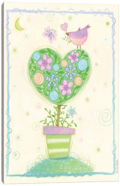 Heart Tree Canvas Art Print