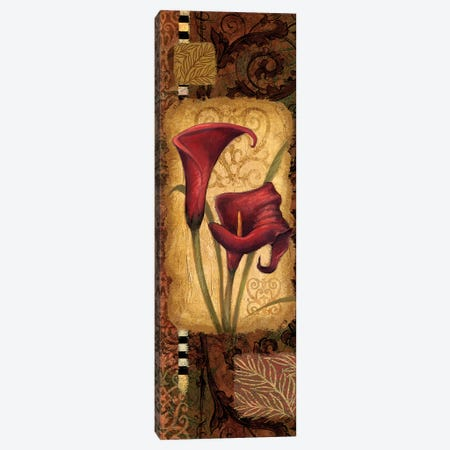 Red Lily I Canvas Print #VEI27} by Viv Eisner Canvas Print