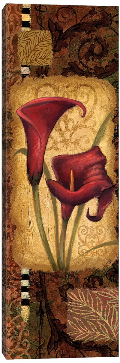 Red Lily I Canvas Art Print