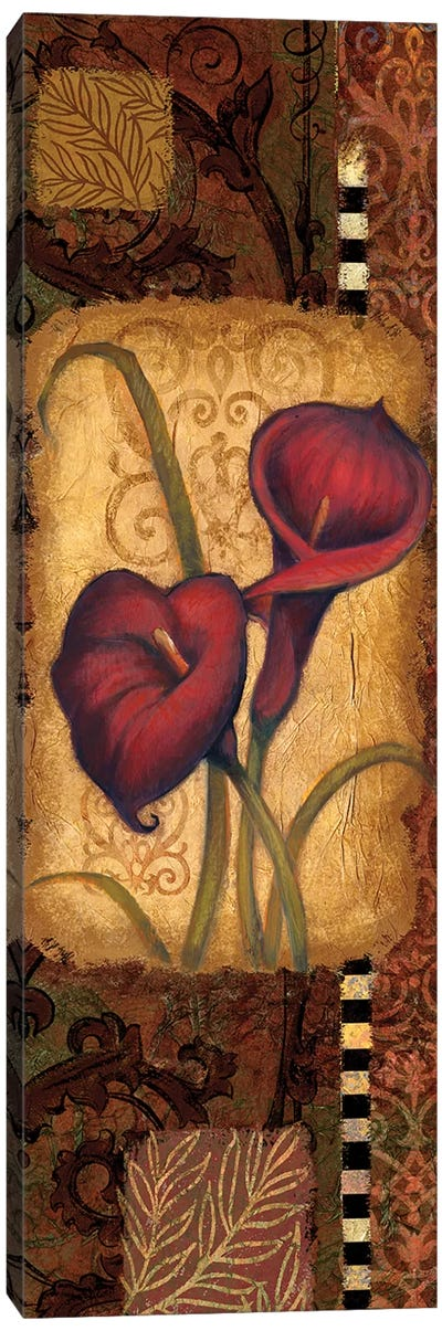 Red Lily II Canvas Art Print
