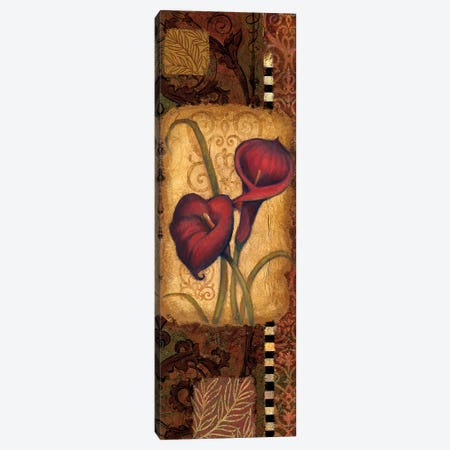 Red Lily II Canvas Print #VEI28} by Viv Eisner Canvas Wall Art