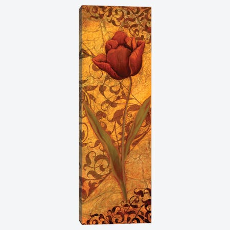 Red Tulip II 3-Piece Canvas #VEI30} by Viv Eisner Canvas Art Print