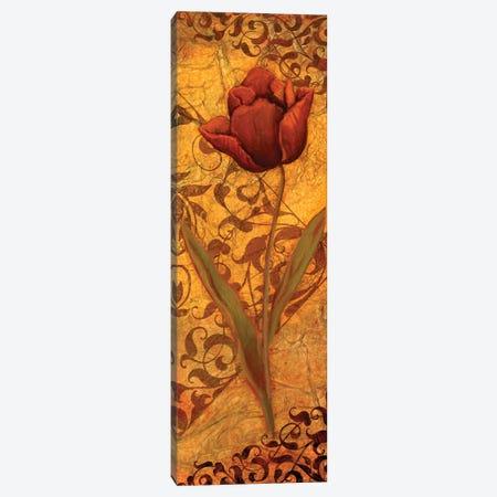 Red Tulip II Canvas Print #VEI30} by Viv Eisner Canvas Art Print