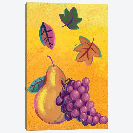 Graphic Cornucopia II Canvas Print #VEI59} by Viv Eisner Art Print