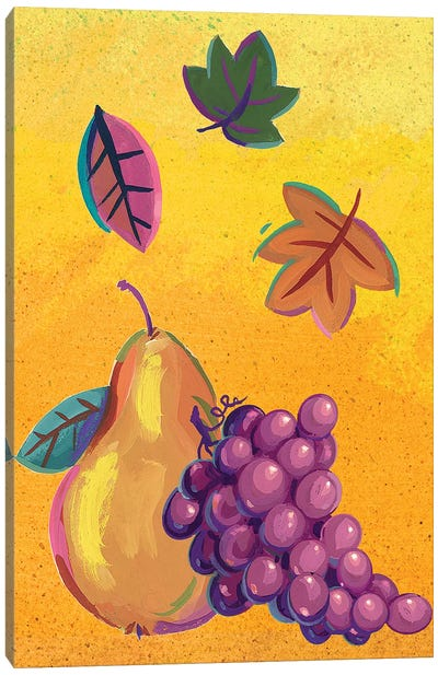 Graphic Cornucopia II Canvas Art Print