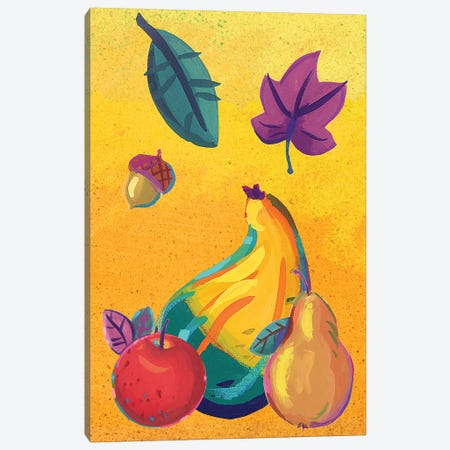 Graphic Cornucopia III 3-Piece Canvas #VEI60} by Viv Eisner Canvas Art