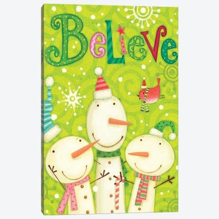 Bright Believe I Canvas Print #VEI61} by Viv Eisner Canvas Art