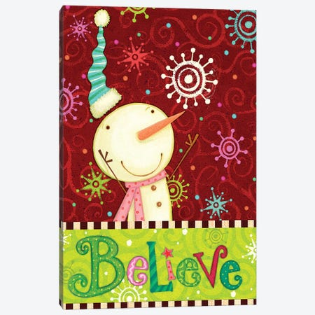 Bright Believe II Canvas Print #VEI62} by Viv Eisner Canvas Art
