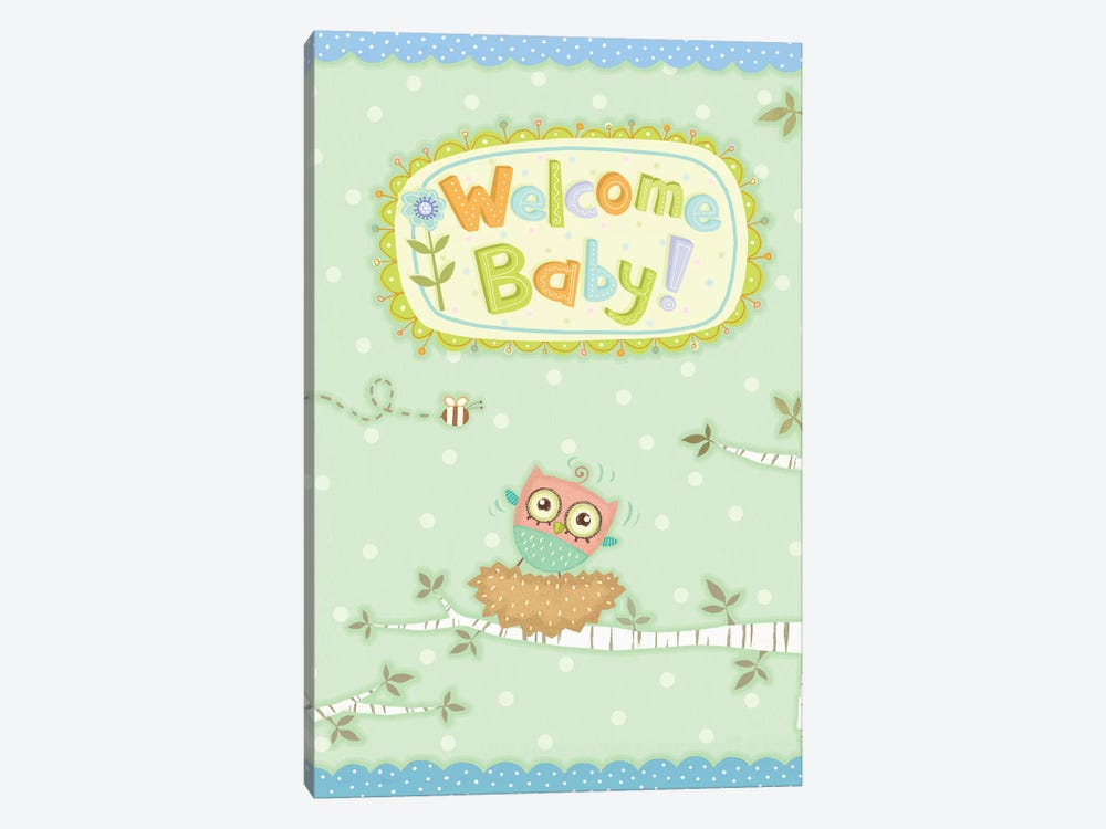 Baby Owl I by Viv Eisner 1-piece Canvas Wall Art