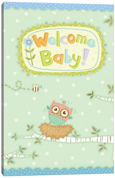 Baby Owl I Canvas Art Print