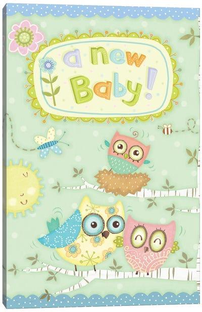 Baby Owl II Canvas Art Print