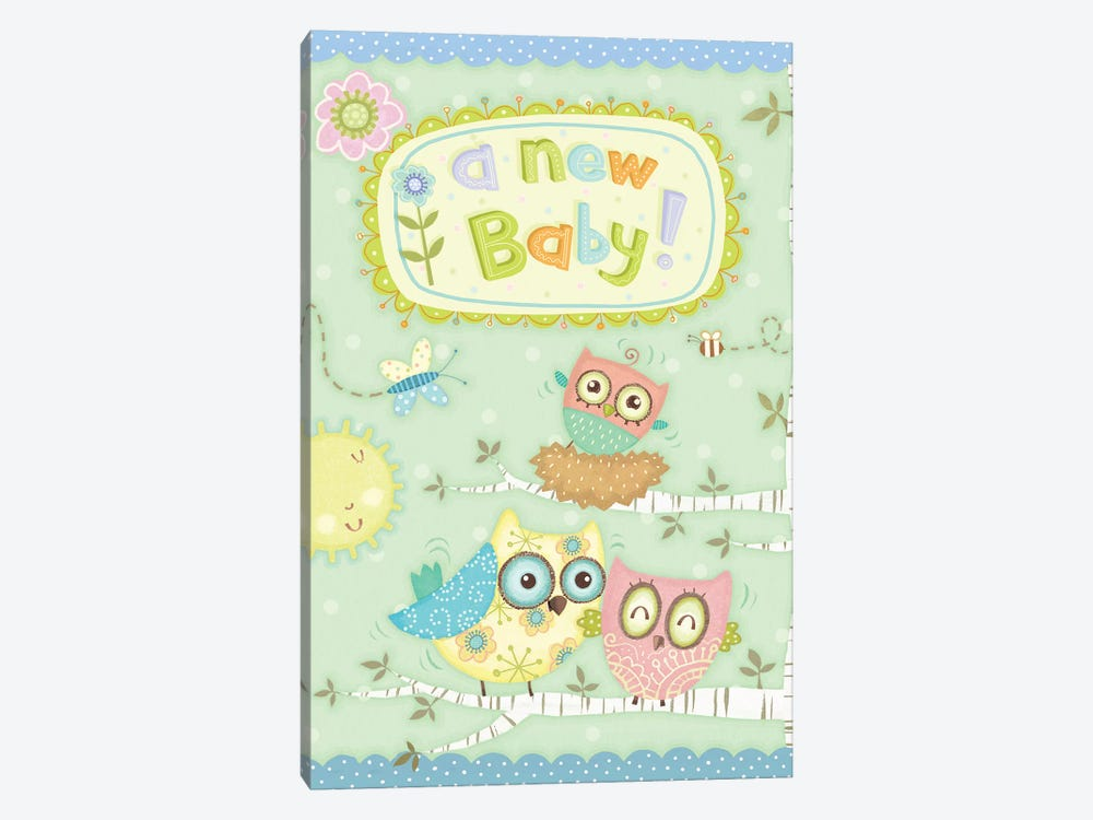 Baby Owl II by Viv Eisner 1-piece Art Print
