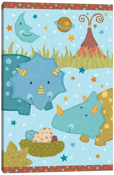 Dino Friends I Canvas Art Print
