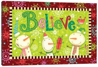 Bright Believe Collection A  Canvas Art Print