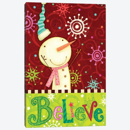 Bright Believe Collection B Canvas Print #VEI72} by Viv Eisner Canvas Art Print