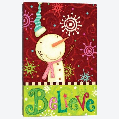 Bright Believe Collection B Canvas Print #VEI72} by Viv Eisner Canvas Art Print