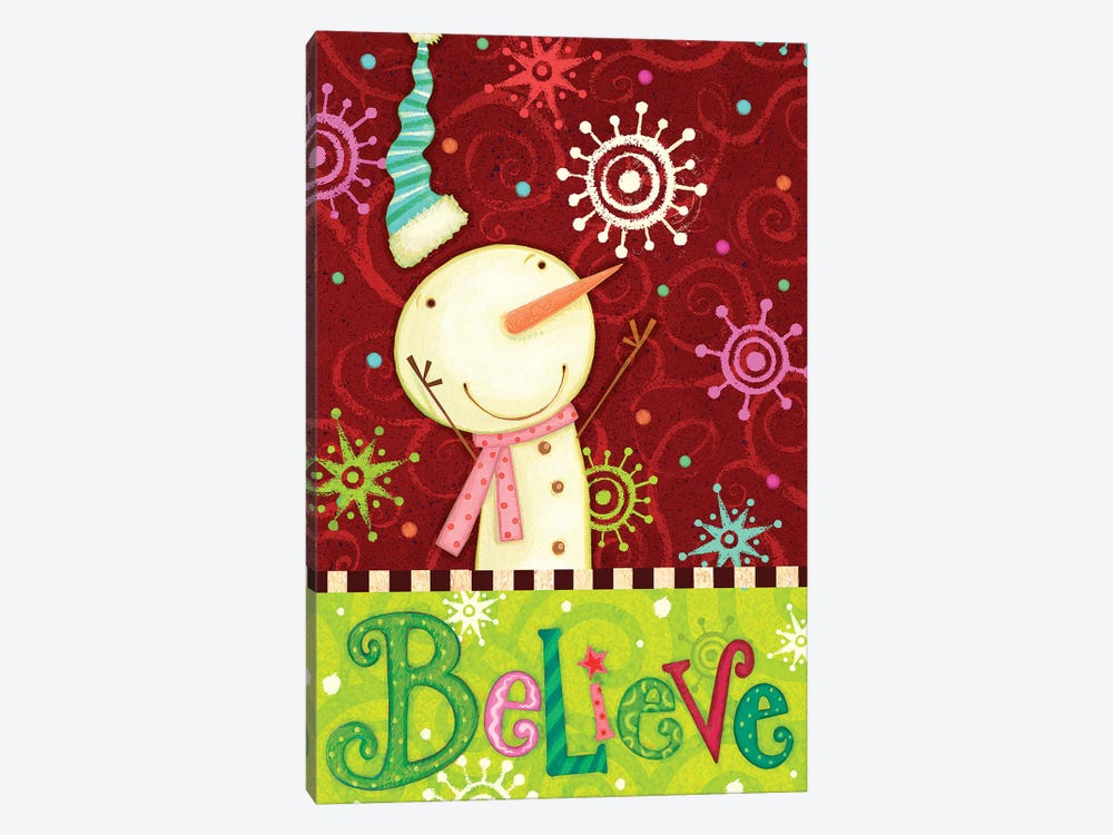 Bright Believe Collection B by Viv Eisner 1-piece Canvas Art