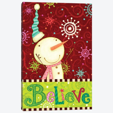 Bright Believe II Canvas Print #VEI75} by Viv Eisner Canvas Wall Art
