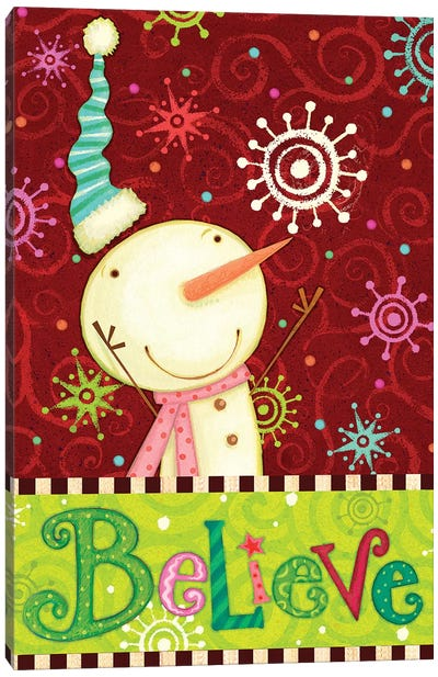Bright Believe II Canvas Art Print