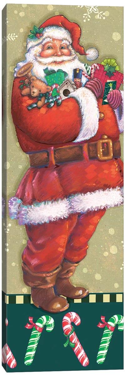 Classic Santa Collection B Canvas Art Print