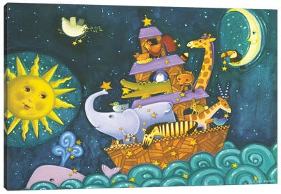 Ark III Starry Ark Canvas Art Print