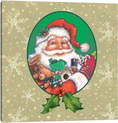 Classic Santa II Canvas Art Print