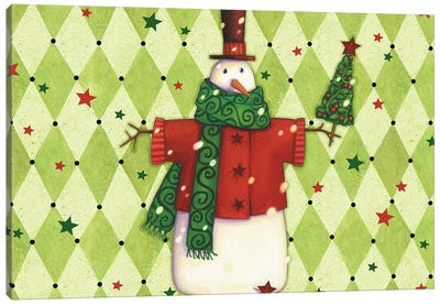 Harlequin Christmas Collection A Canvas Art Print