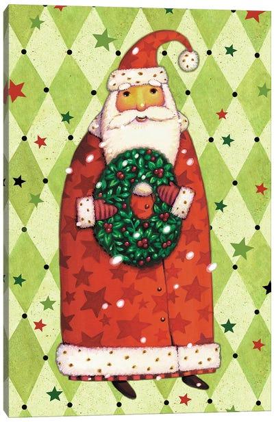 Harlequin Christmas Collection B Canvas Art Print