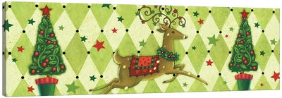Harlequin Christmas Collection D Canvas Art Print