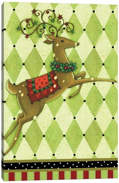 Harlequin Christmas I Canvas Art Print
