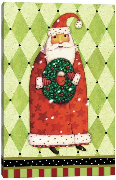 Harlequin Christmas II Canvas Art Print