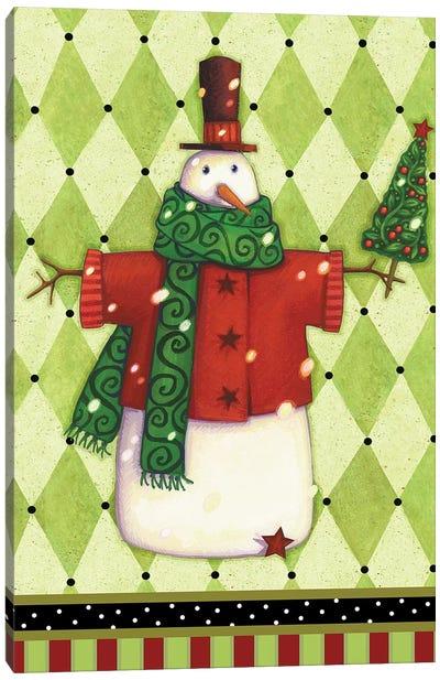 Harlequin Christmas III Canvas Art Print