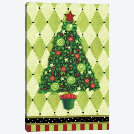 Harlequin Christmas IV Canvas Print #VEI92} by Viv Eisner Canvas Art Print