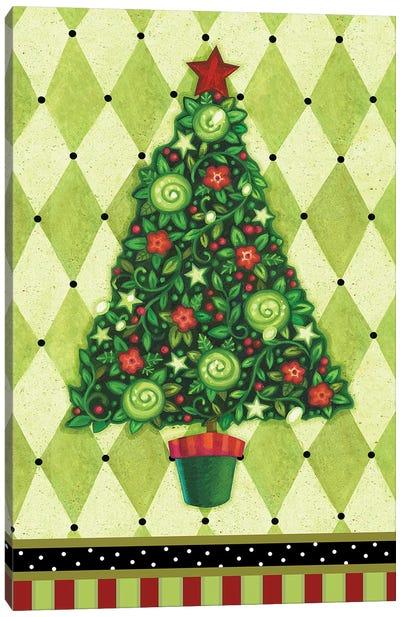 Harlequin Christmas IV Canvas Art Print
