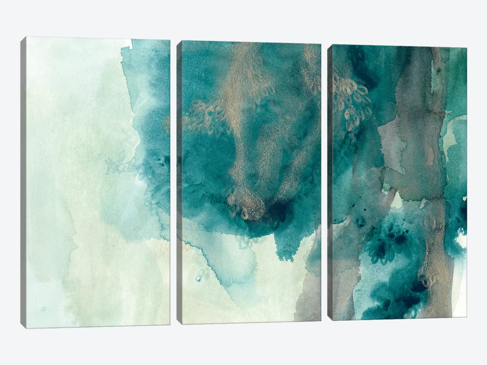 Hydro I by June Erica Vess 3-piece Canvas Art Print