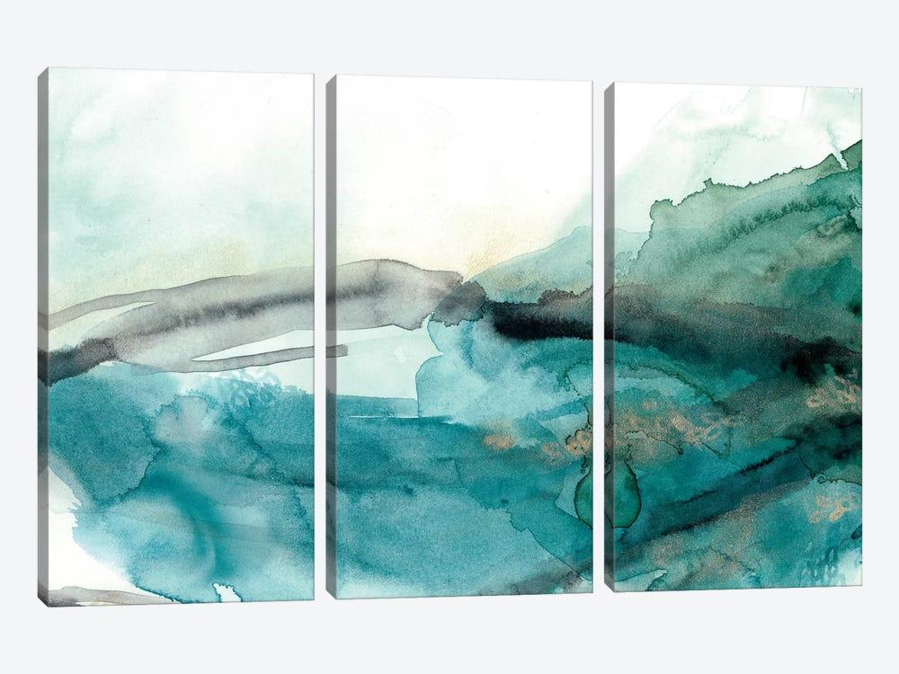 Hydro V by June Erica Vess 3-piece Canvas Artwork