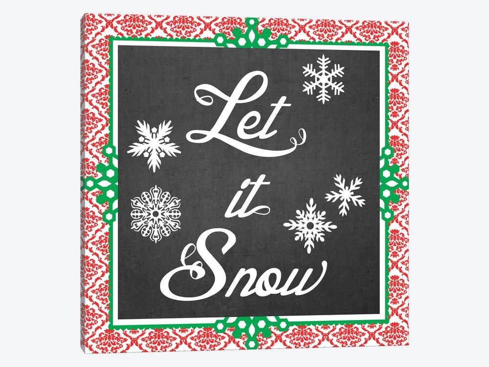Let It Snow II by June Erica Vess 1-piece Art Print