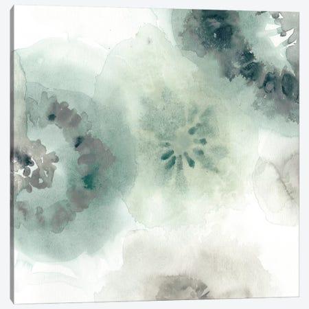 Lily Pad Watercolor II Canvas Print #VES124} by June Erica Vess Canvas Art